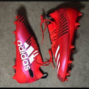 Adidas Adizero 8.0 Primeknit Solar Red Football 13